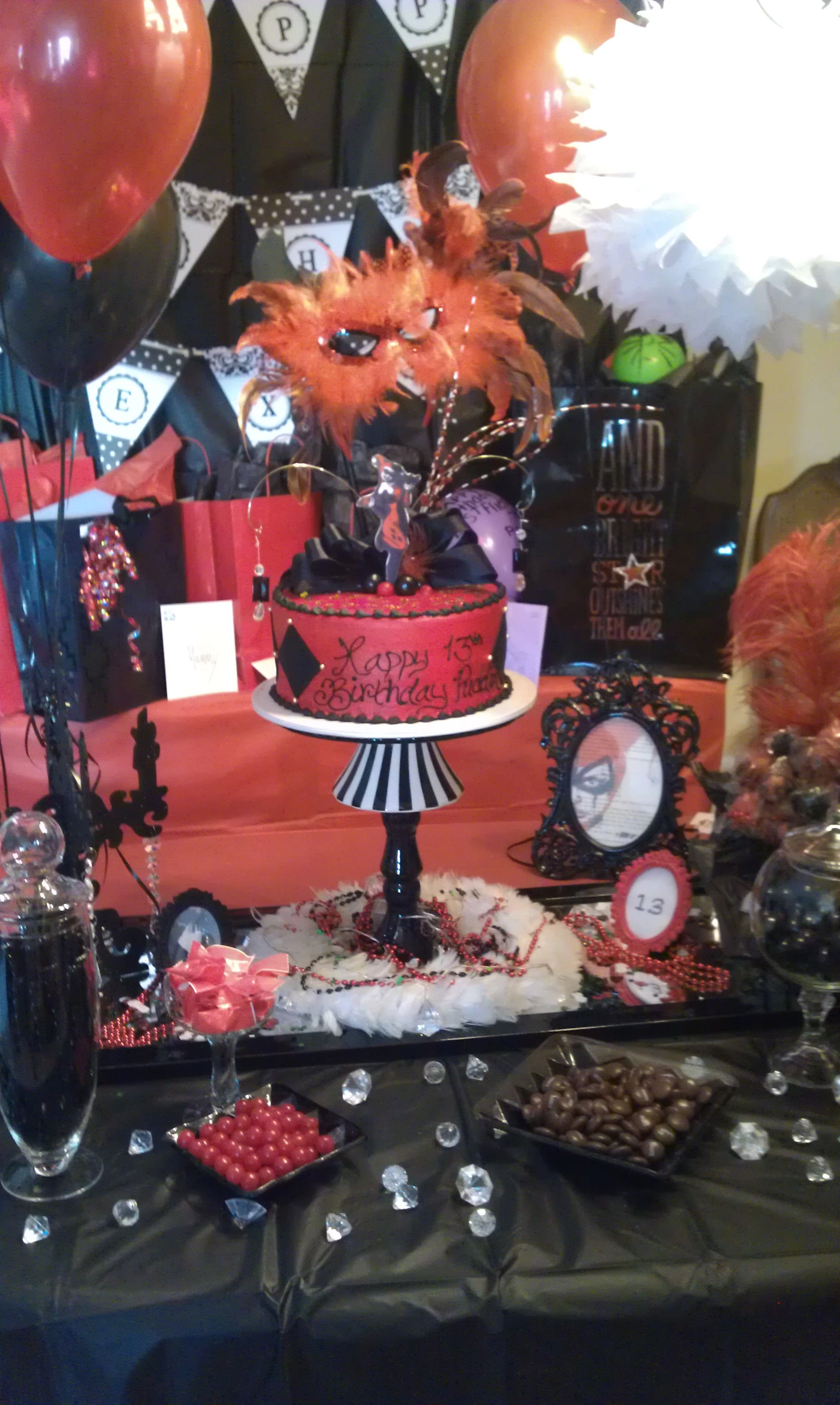 Harley Quinn Party Decor Party Ideas Pinterest