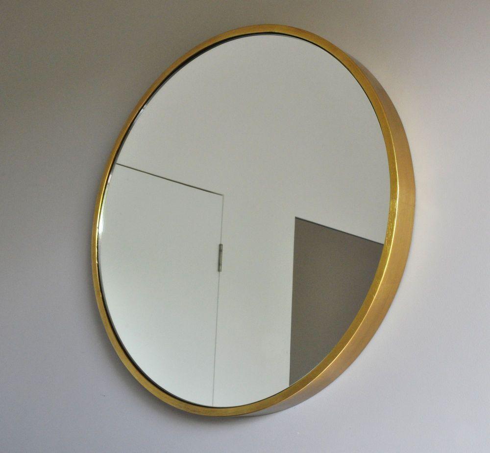 art deco mirror gold