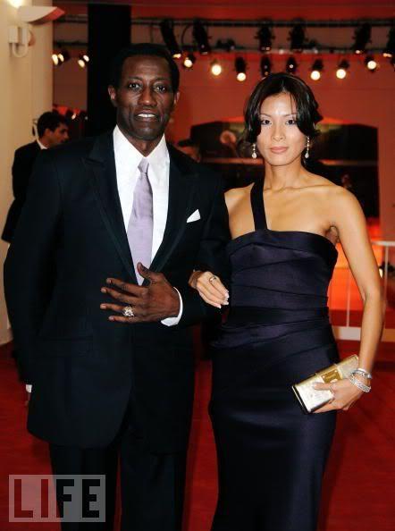 Wesley Snipes Nikki Nakyung Park Black Celebrity Couples Interracial Celebrity Couples Celebrity Couples