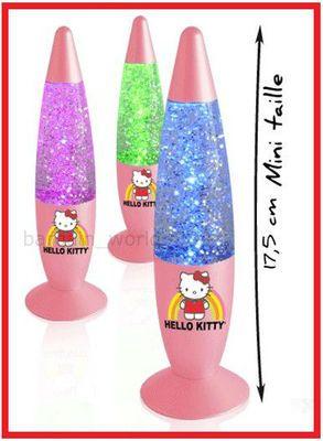 Amazing Hello Kitty Lava Lamps