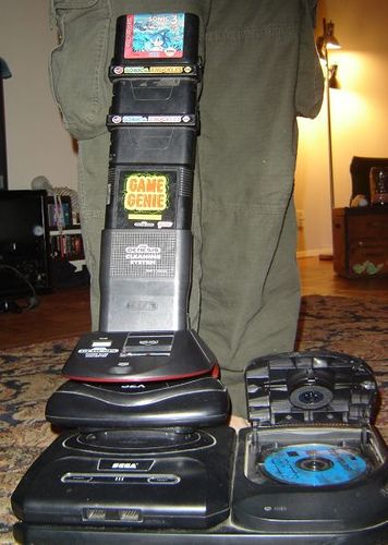Seriously, the Sega Genesis with add-ons got crazy  I had