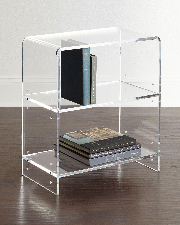 Everly Acrylic Bookcase Acrylic Bookcase Acrylic Furniture