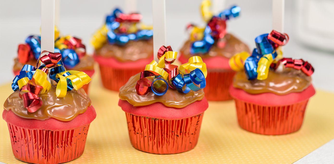 How-To Make Birthday Carnival Caramel Apple Cupcakes - Cakes.com