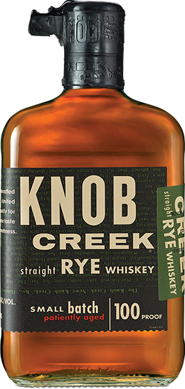 rye whiskey knob creek rye small batch whiskey bevrages