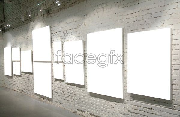 Picture gallery template 2 PSD