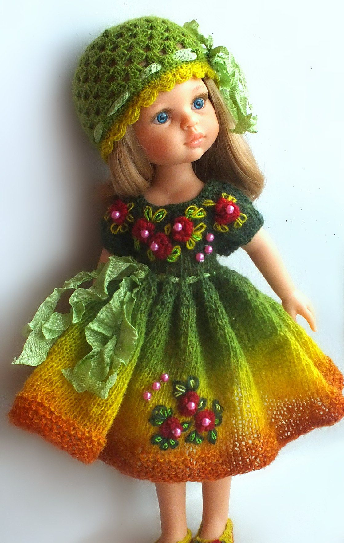 фотографии Kasatkadollsfashions вязаная одежда для кукол 40