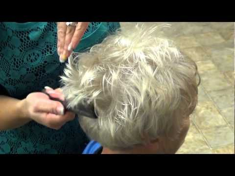 How To Style Trendy Haircut for (Grandma Hair styl
