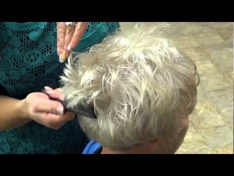Style Trendy Haircut for (Grandma Hair style) - Ha