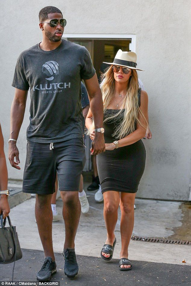 Khloe Kardashian looks stonyfaced on date with Tristan