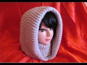 Glugă de damă, tricotată foarte ușor și rapid - PARTEA I - YouTube #golasdetrico