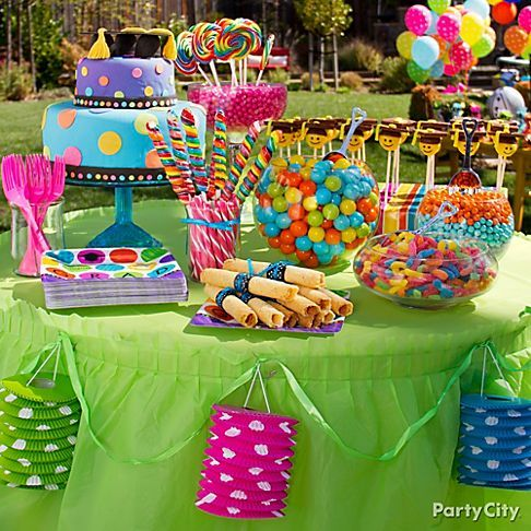 13 colorful high school graduation party ideas party city candy bar in school colors