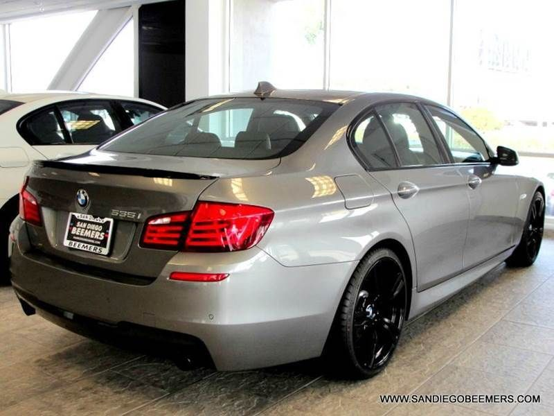2012 Bmw 5 Series 535i 4dr Sedan M Sport Package San