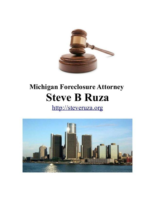 Need a Michigan Foreclosure Attorney?  #Michigan #Foreclosure #Attorney