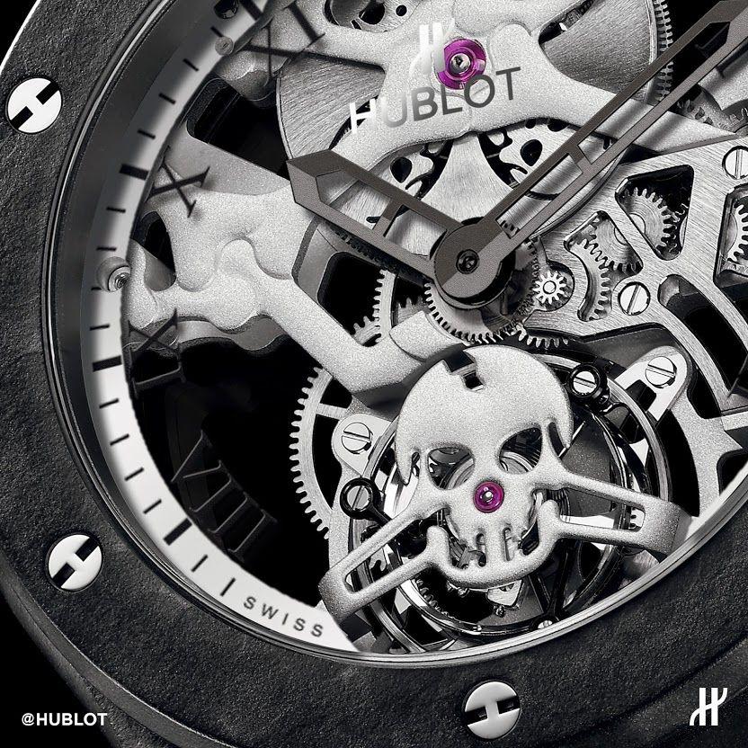Hublot Classic Fusion Tourbillon Skull watch - Hublot watches are available at Deutsch & Deutsch in Laredo and McAllen, TX. #hublot #deutschanddeutsch #wherelifehappens