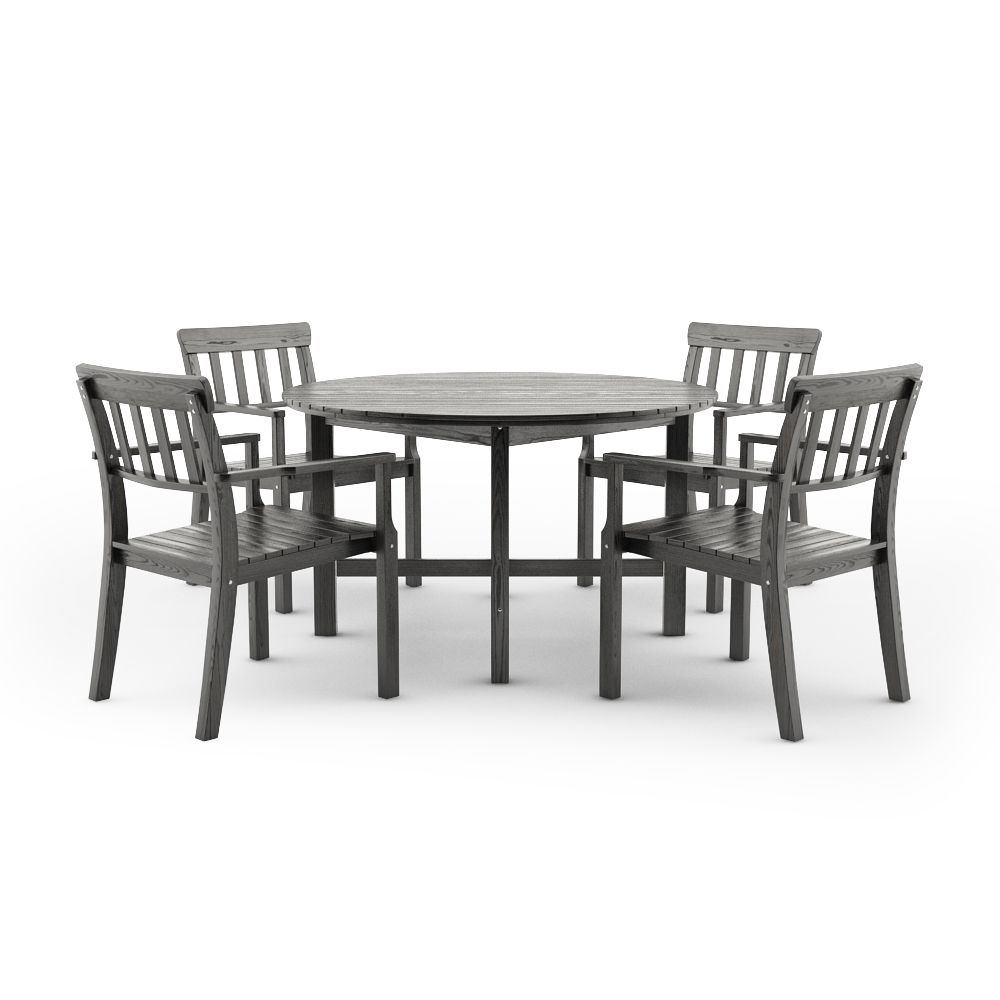 free 3d models ikea angso outdoor furniture series - Garden Furniture 3d