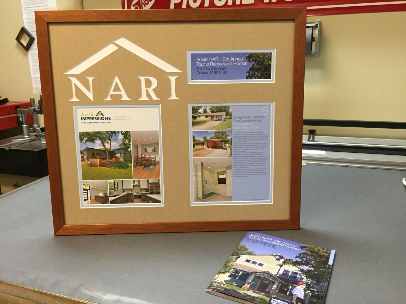 NARI Magazine cover custom framed. | Certificates or Articles of ...