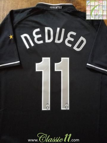 0d66b57e569 Official Nike Juventus away football shirt from the 2006 2007 season.  Complete with Nedved  11 on the back of the shirt.