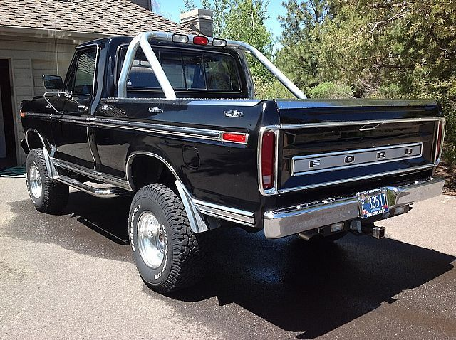 1979 Ford F150 Ranger For Sale Bend Oregon 1979 Ford Truck Old Ford Trucks Ford F150