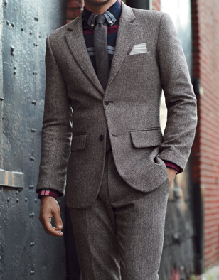 477466090 Hugo Boss wool suit | class act | Tweed suits, Men dress, James marsden