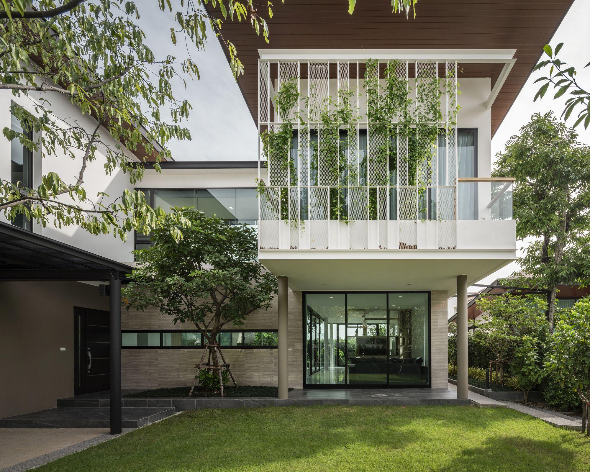 Erdgeschoss haus front design siri house  gla design studio  otthon  pinterest  siri