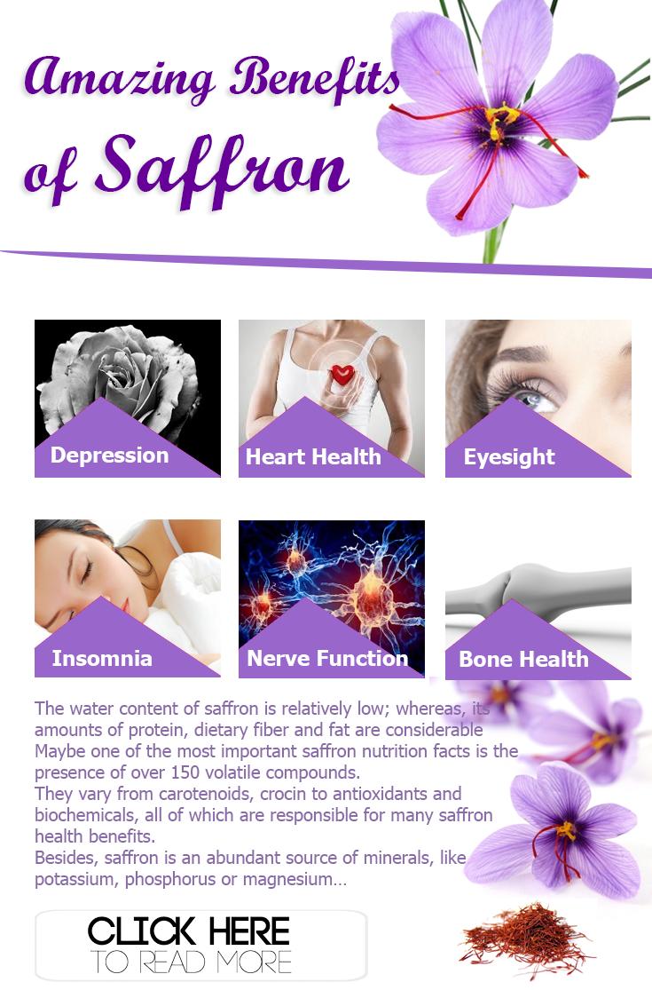 saffron: nutrition facts and health benefits | saffron