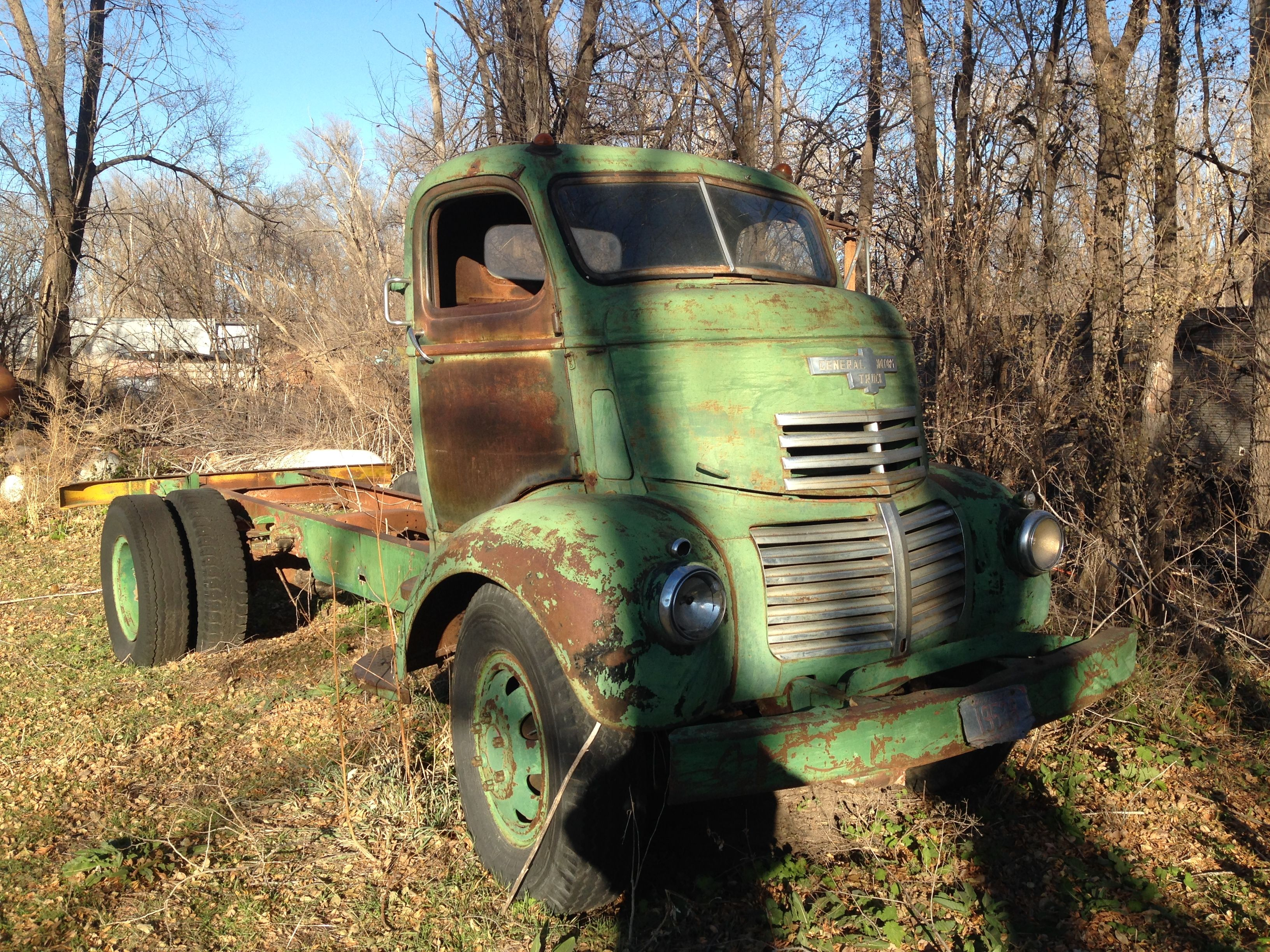 42 gmc coe project truck for sale