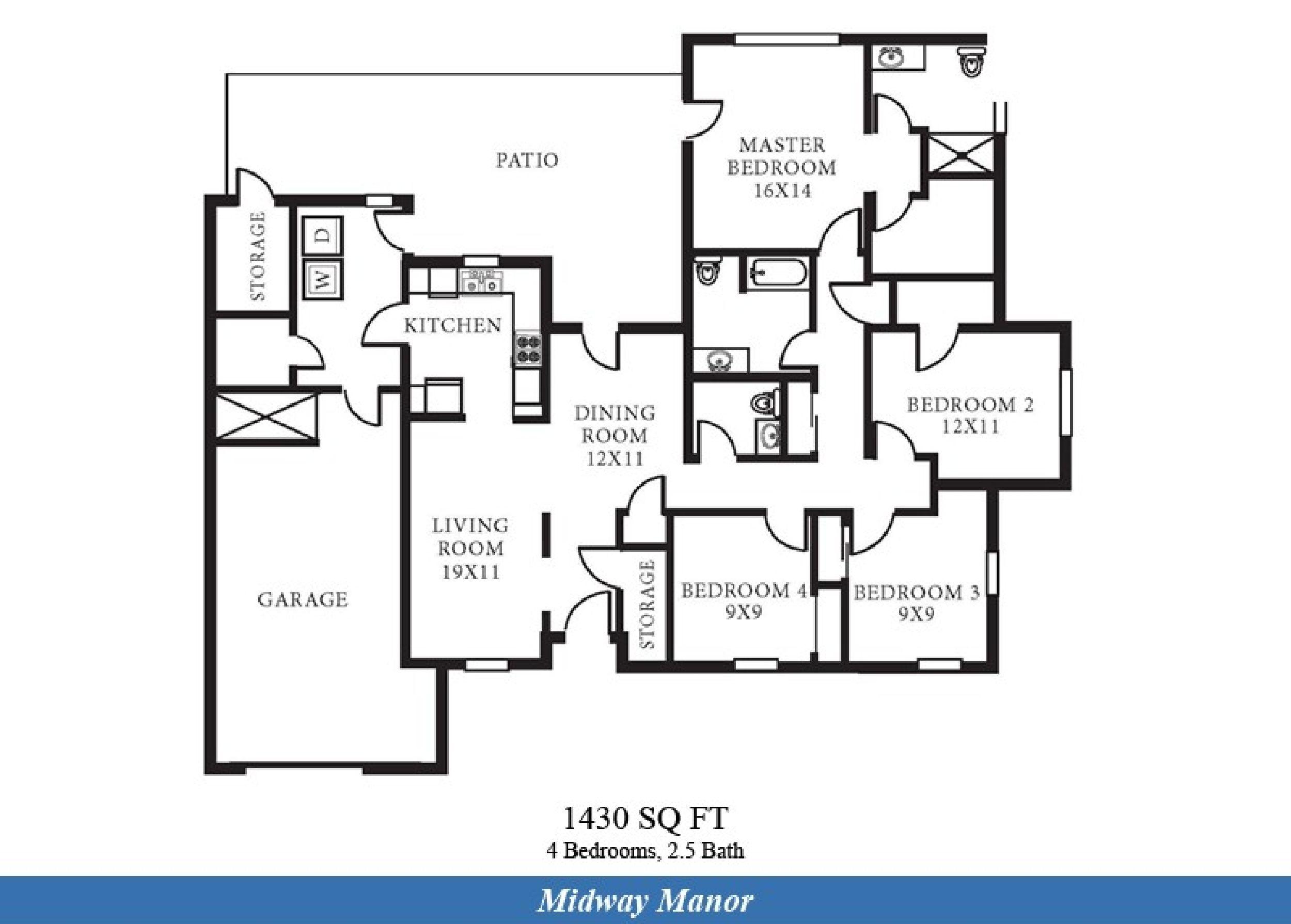 nas oceana midway manor neighborhood 4 bedroom 2 5 bathroom nas oceana midway manor neighborhood 4 bedroom 2 5 bathroom home floor plan