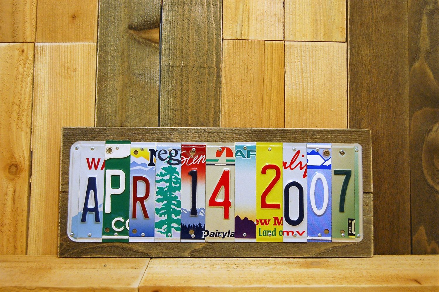 Custom date anniversary gift for him free shipping 11