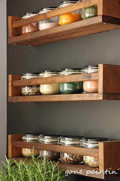Photo of Umgestaltung Küche mit Ikea Regal und Tafellack