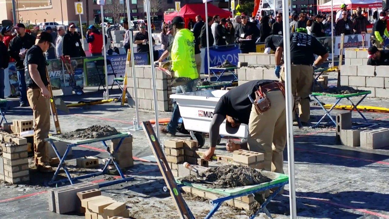 Apprentice Skills Challenge With Cristian Lopez At World Of Concrete World Of Concrete Challenges Apprentice