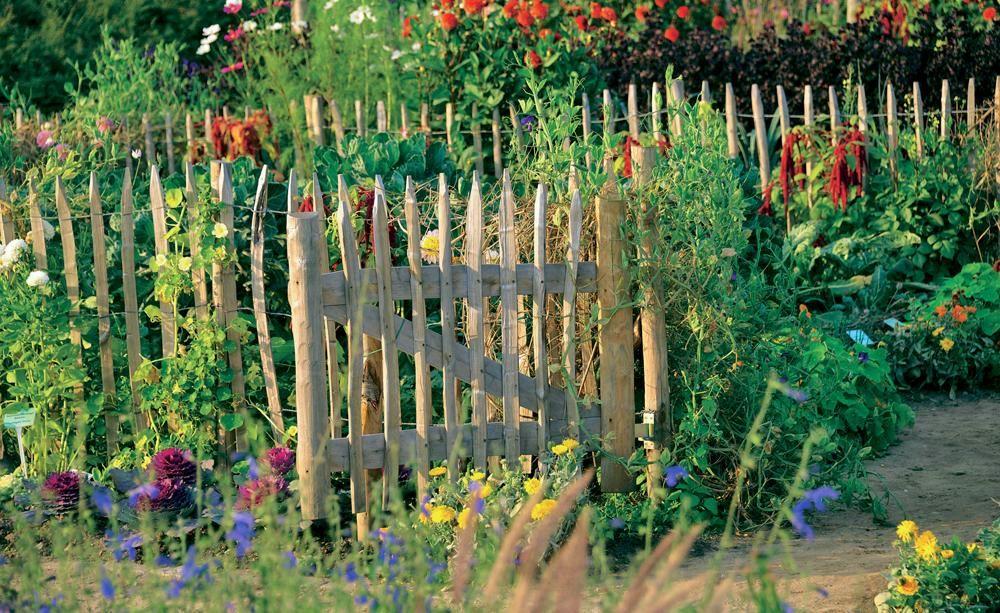 Natürlicher Charme: Ein Holzzaun Für Den Garten | Note, Oder Und ... Passende Zaun Fur Den Garten