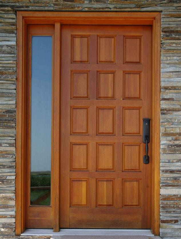 Teak wood main door designs roopa doors pinterest for Home front door design indian style