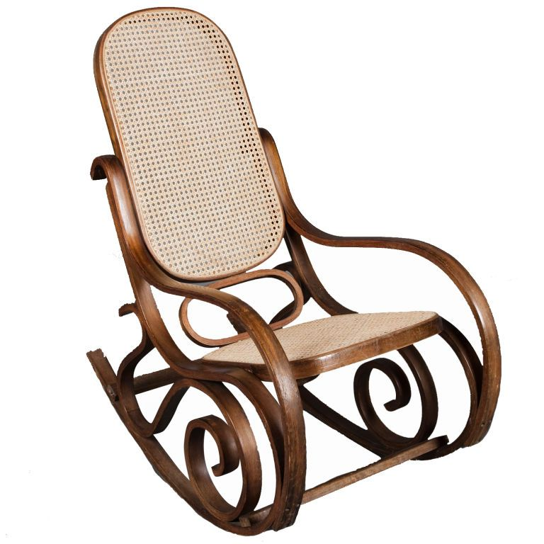 Thonet Bentwood Rocking chair Rocking chairs Interior