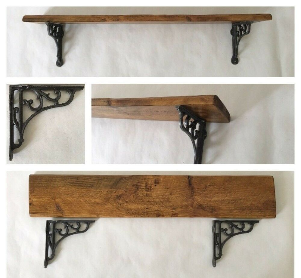 Details About Reclaimed Pallet Wood With Cast Iron Vintage