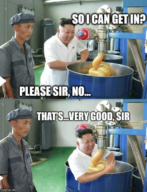 DPRK Caramel Factory | image tagged in north korea,kim jong un | made w/ Imgflip meme maker