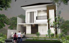 Plan Maison Moderne Cubique Avec Porte D Entree En Verre Securit