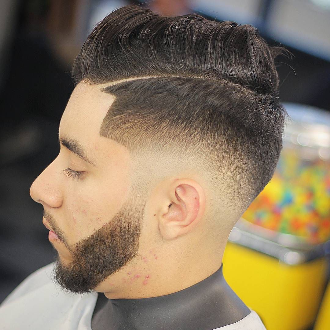 Different types of fade haircuts for men what is mid fade  best medium fade haircuts  fade haircuts