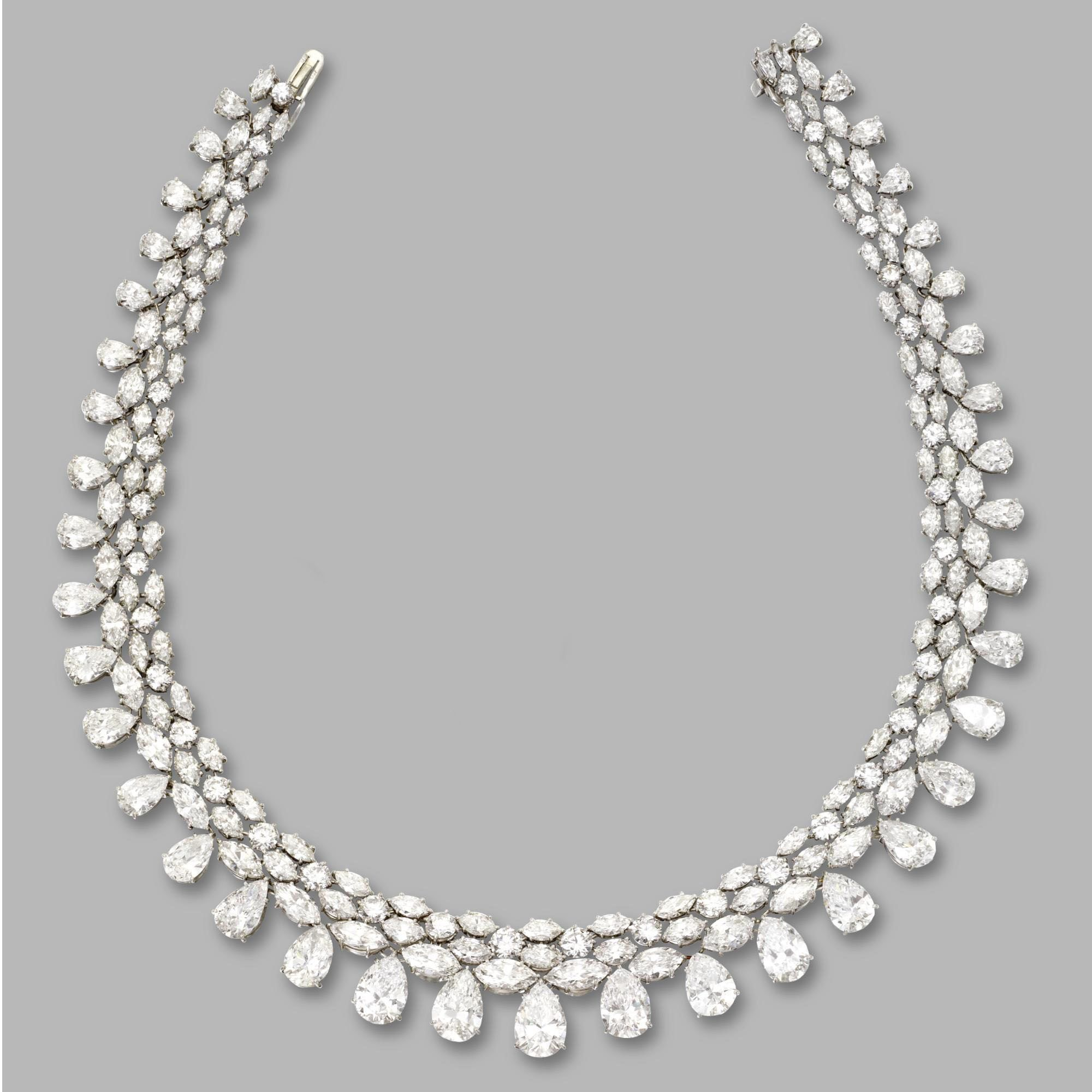 diamond ctw gold marquise necklace ref designer rose