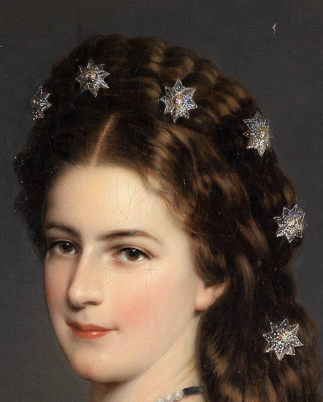 Empress Elisabeth Of Austria By Franz Xavier Winterhalter Kaiserin Sisi Elisabeth Romy Schneider