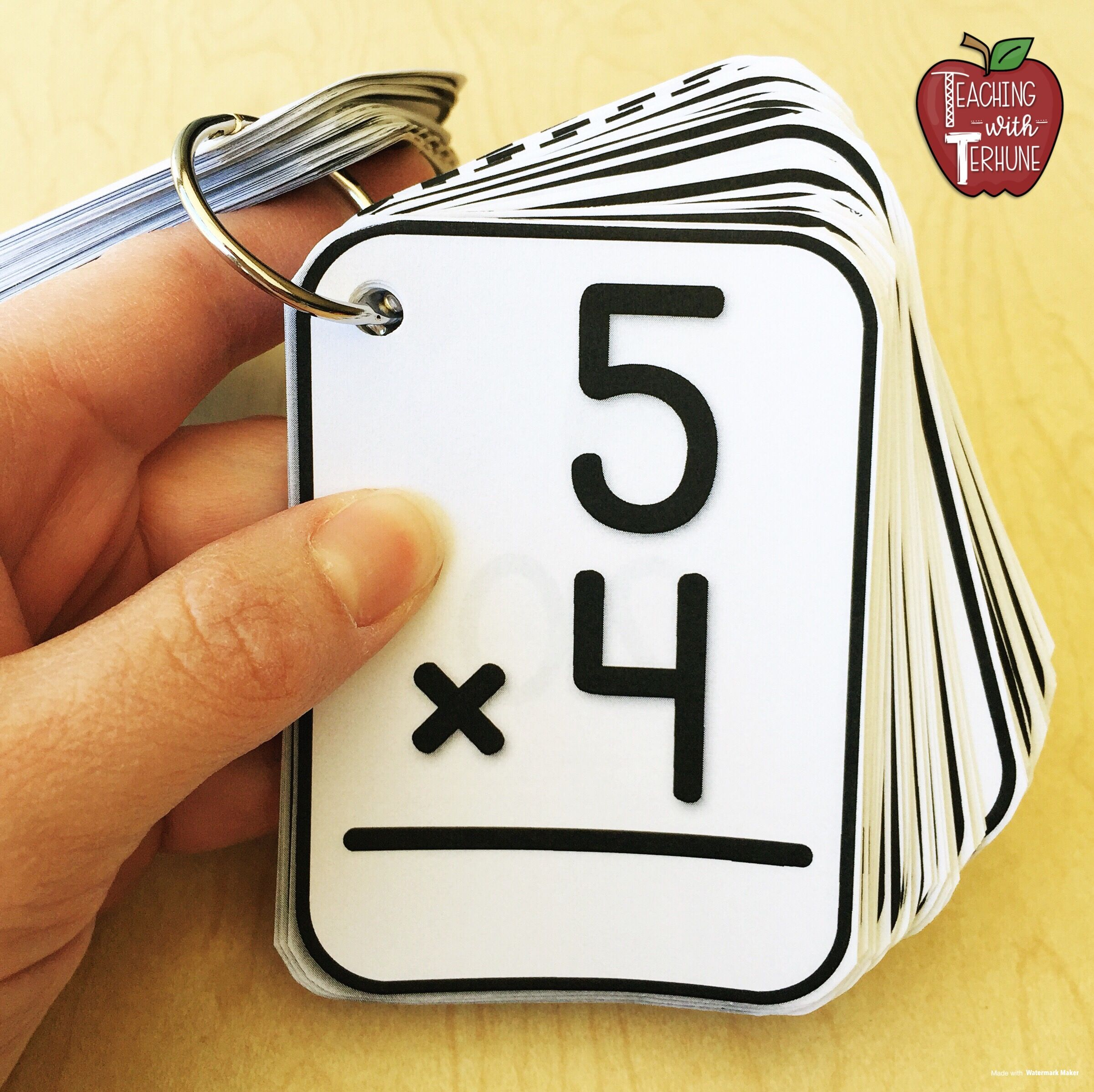 photo regarding Printable Multiplication Flashcards With Answers on Back called Pin upon Training With Terhune