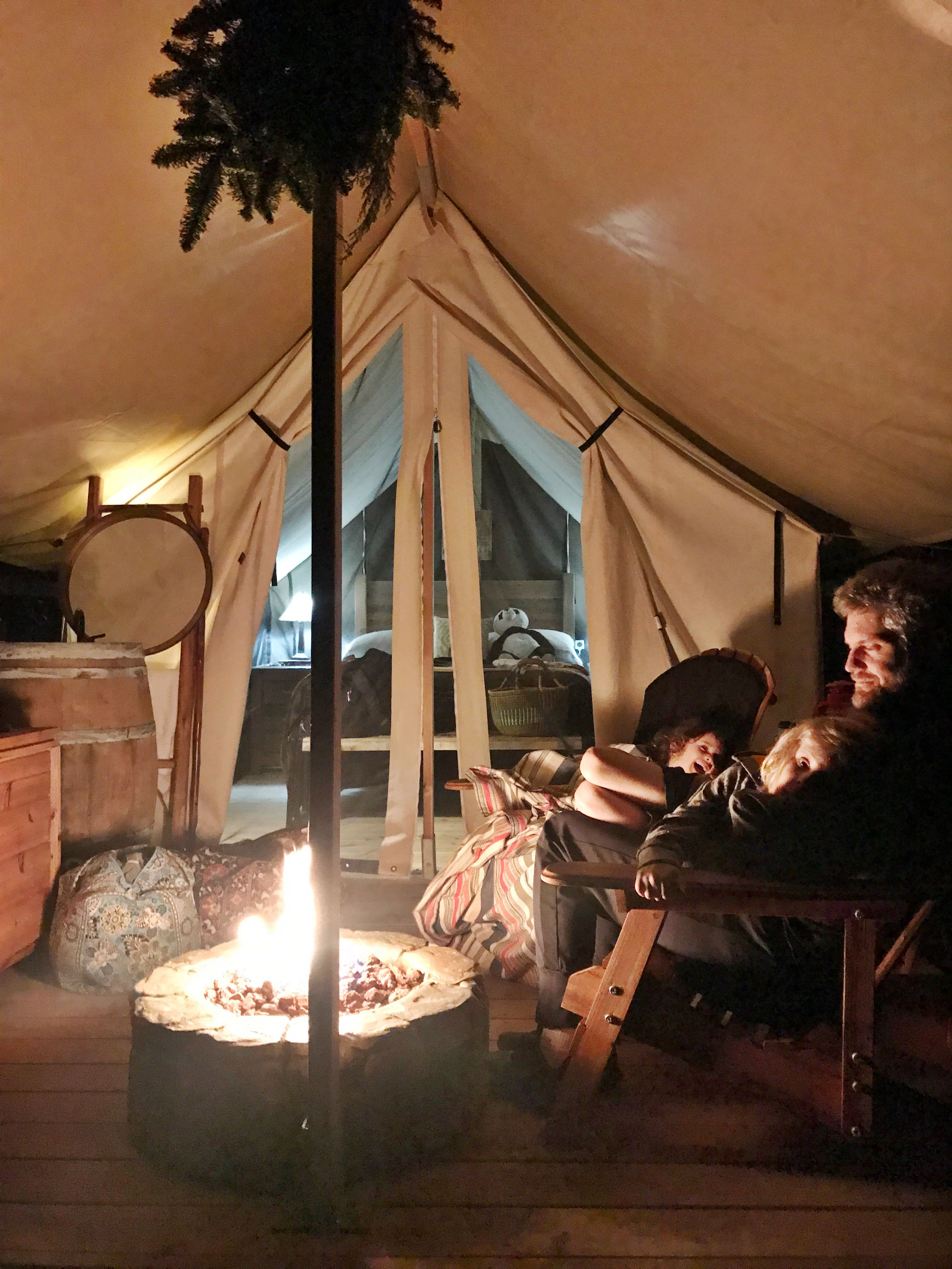 Family glamping at ventana big sur and travel tips for