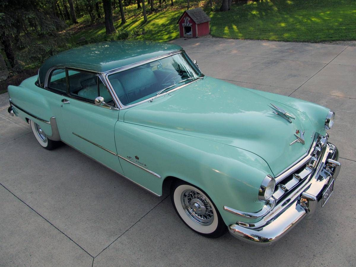 1954 Chrysler Imperial Newport 1951 To 1959 Carz Pinterest New Yorker Deluxe