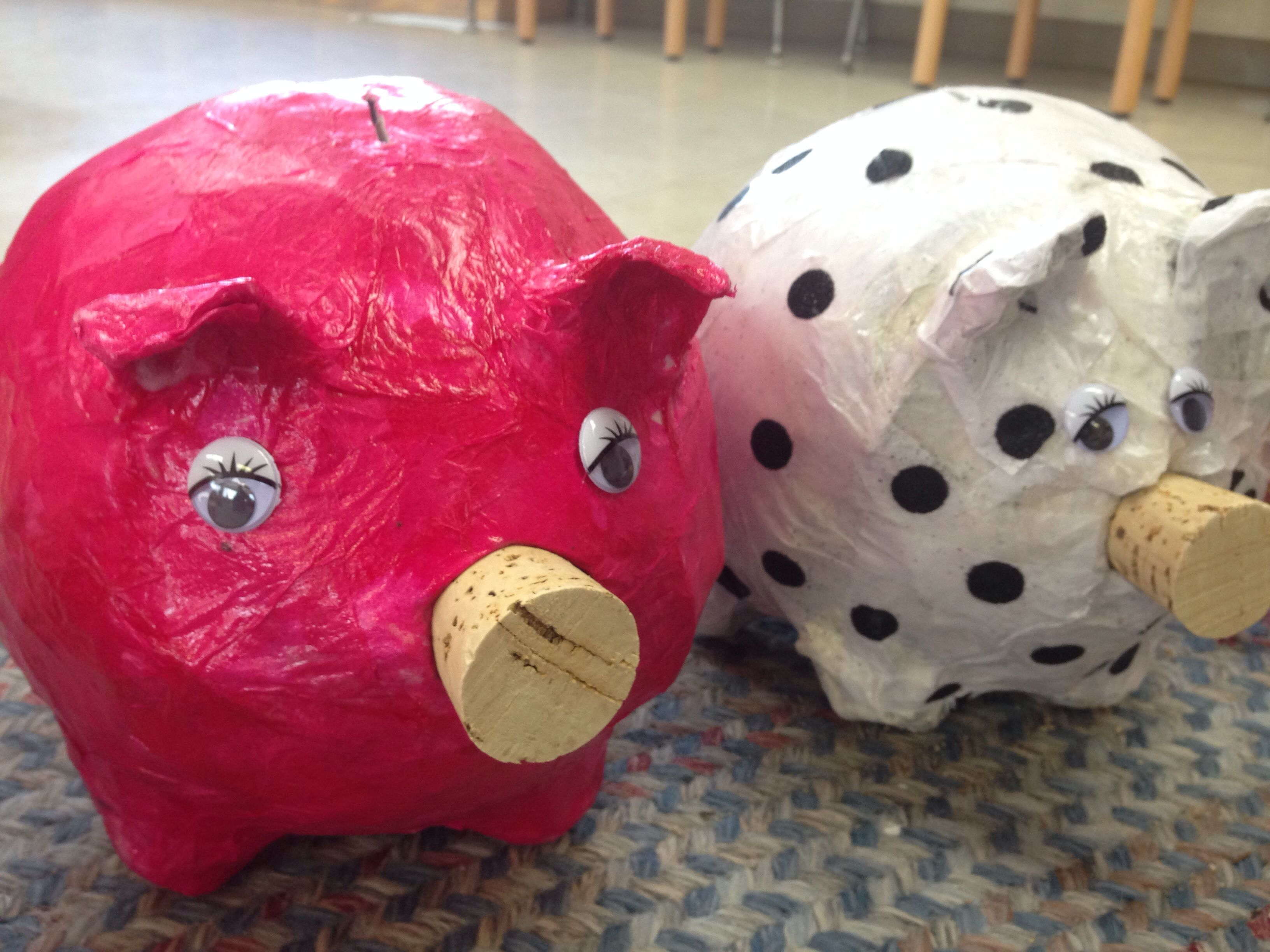 36 year olds piggy banks piggy bank kids art projects
