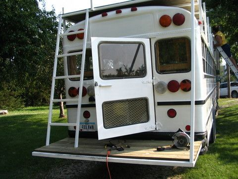 Rv Top Roof Deck Diy Google Search Camper Pinterest