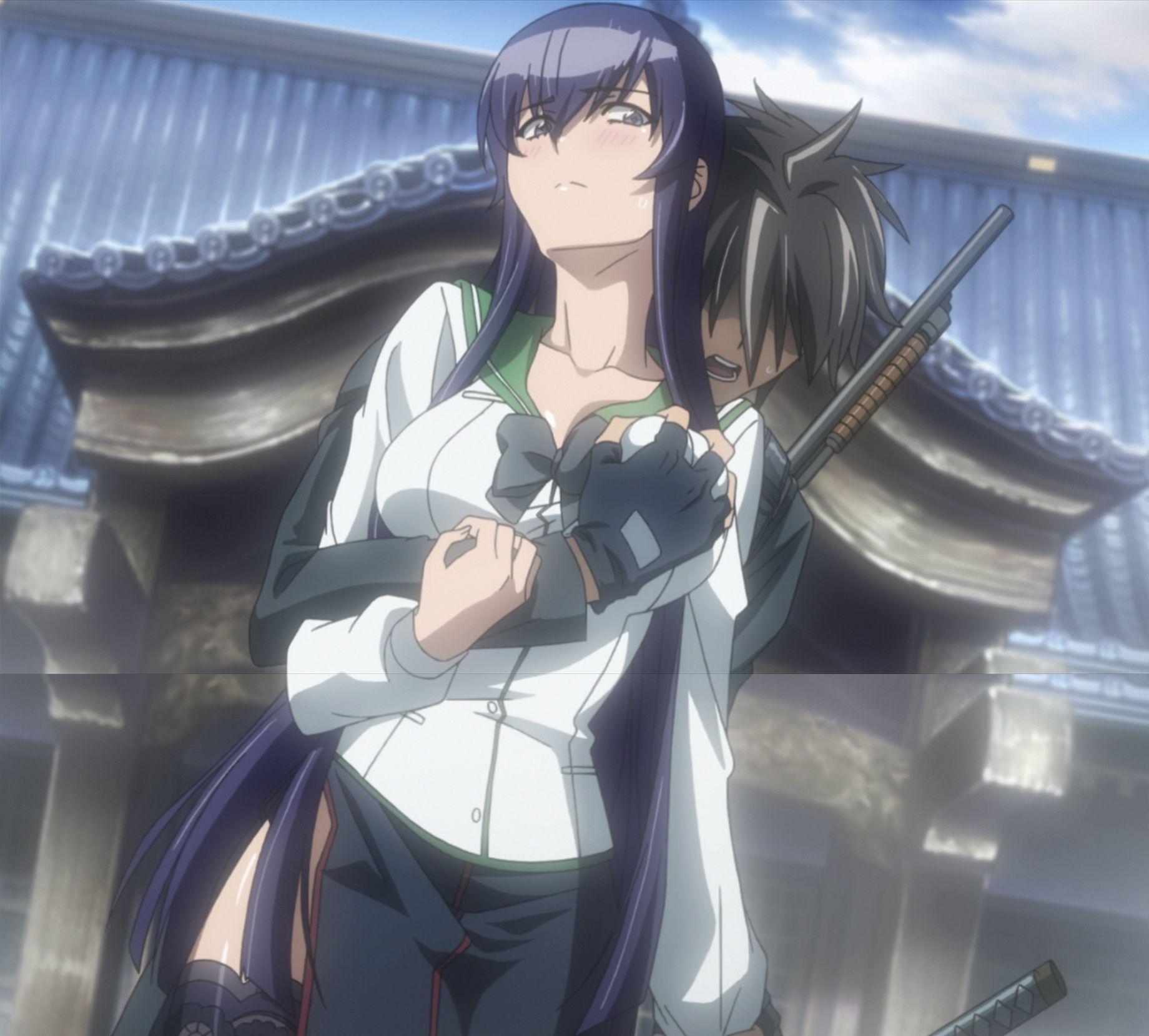 Highschool of the dead saeko hot