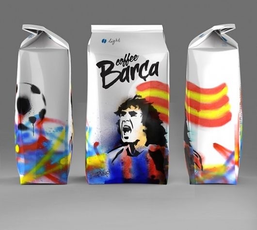 Brought tears to my eyes.....Sniff!! If you are from Barcelona, you will love this packaging!