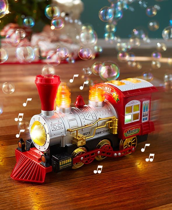 Musical Bump \u0027n\u0027 Go Bubble Train RAVEN FUN TOYS  MORE WANTS