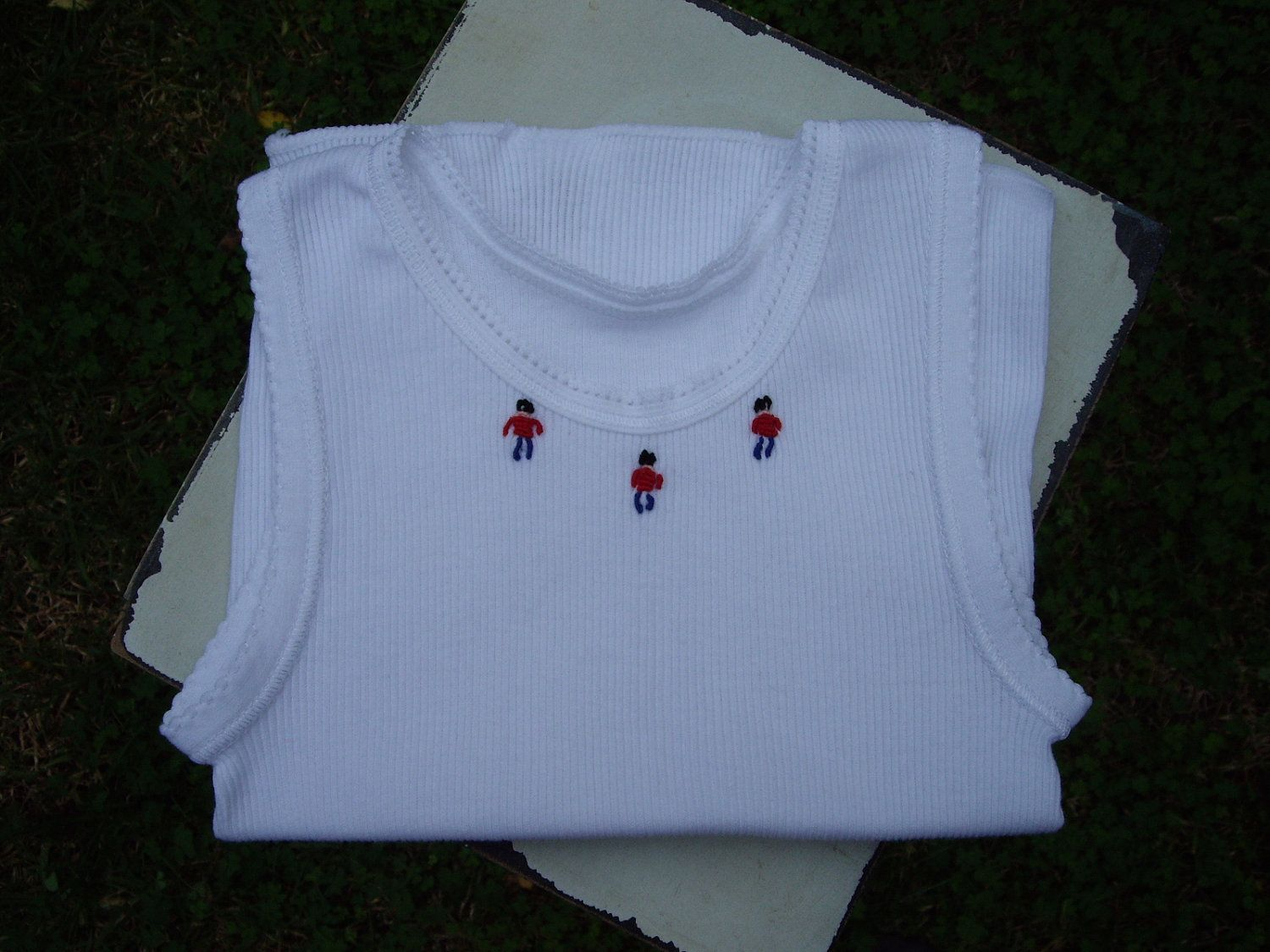 Cute Hand Embroidered Baby Singlets - Toy Soldiers. $13.00, via Etsy ...