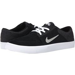 66c682cfa2fb Nike SB Portmore Black White Medium Grey - Zappos.com Free Shipping BOTH