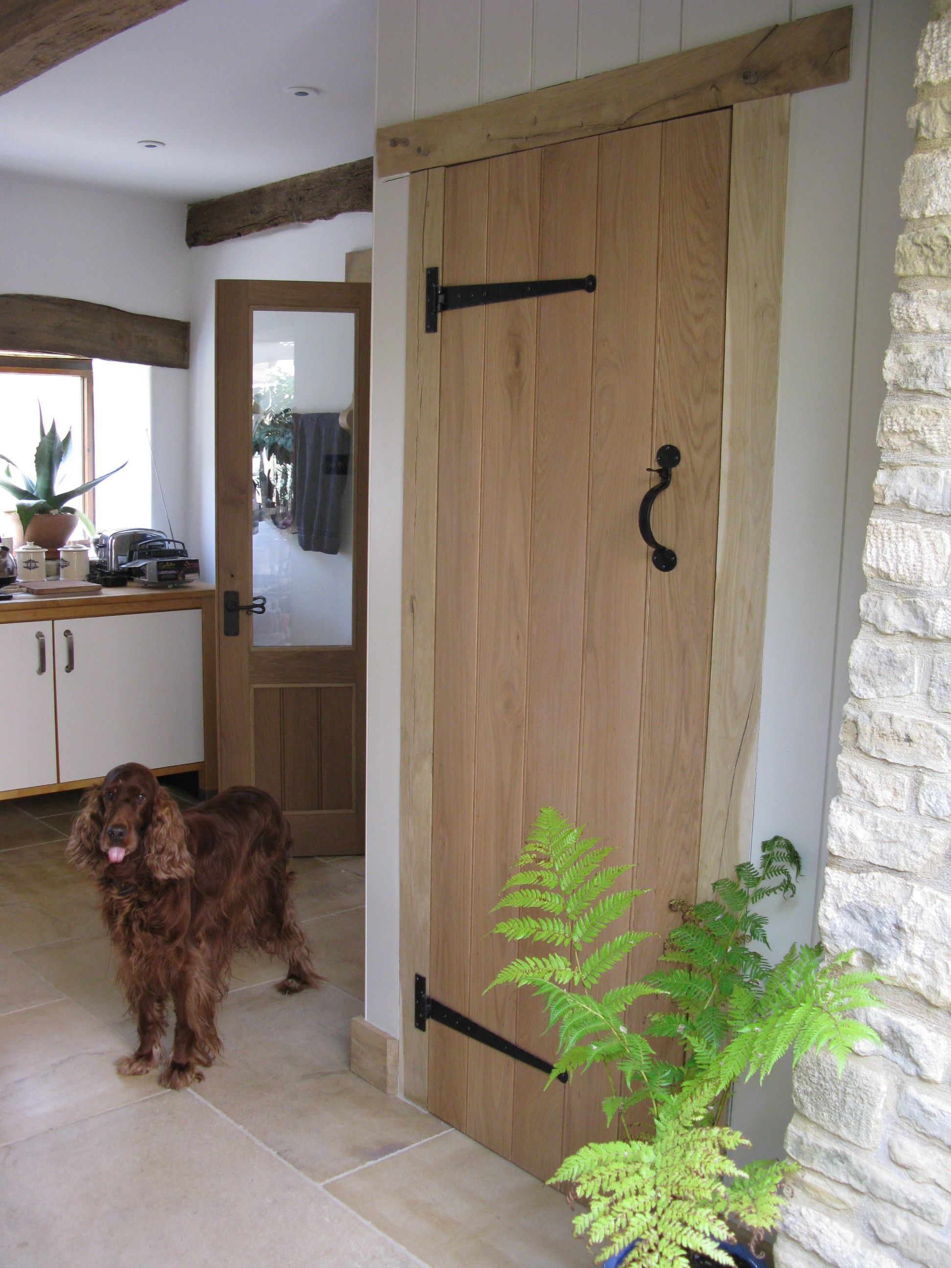 Ledge and brace oak doors - Look At This Adorably Cheeky Dog Sticking His Tongue Out Stood In Fron Of His Solid Oakbraces